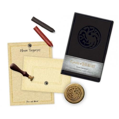 Set De Papelería Deluxe Casa Targaryen