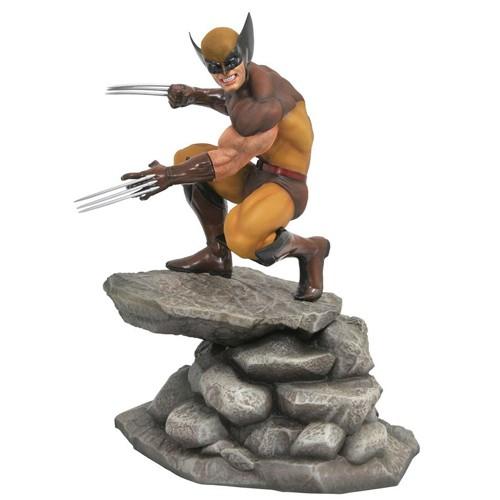 Estatua Lobezno Marrón 23cm