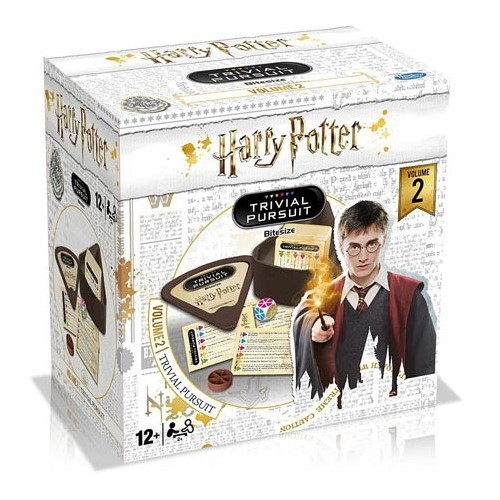 Juego De Mesa Trivial Bite Harry Potter Volumen 2