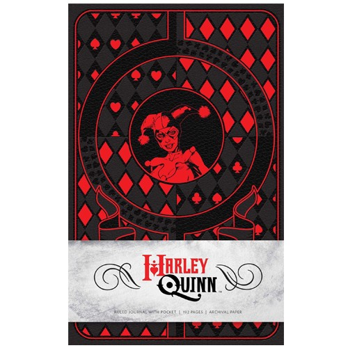 Libreta Harley Quinn 21 Cm