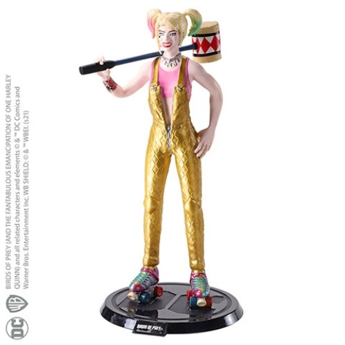 Figura Maleable Harley Quinn 17cm
