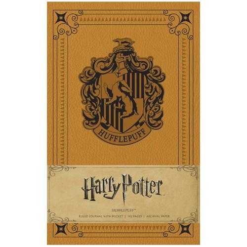 Cuaderno Tapa Dura Emblema Hufflepuff 13x21 Cm