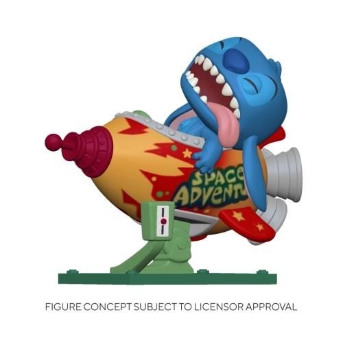 Figura Stitch En Cohete 15cm