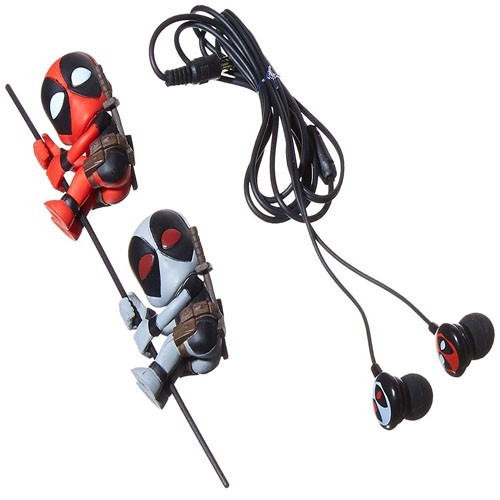 Figuras 2-pack Deadpool Y X-force 5cm +auriculares