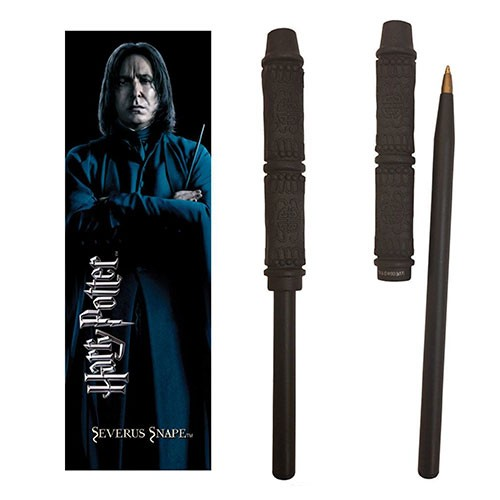 Boli-varita Y Marcapáginas Severus Snape 18cm