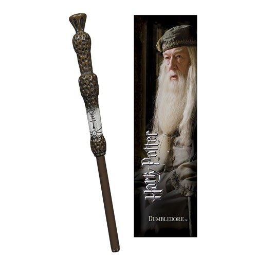 Boli-varita Y Marcapáginas Albus Dumbledore 18cm