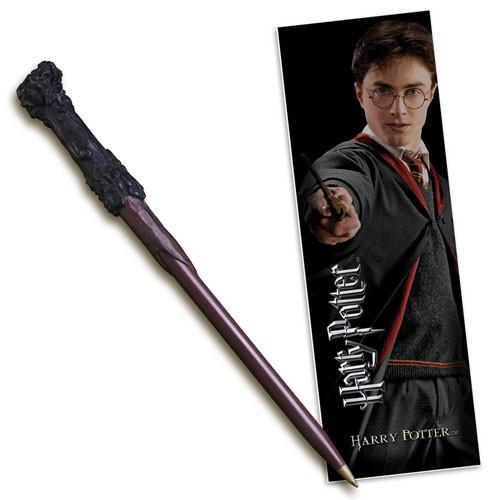 Boli-varita Y Marcapáginas Harry Potter 18cm