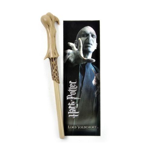 Boli-varita Y Marcapáginas Lord Voldemort 18cm