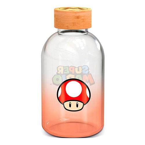 Botella Cristal Champiñón Rojo 620ml