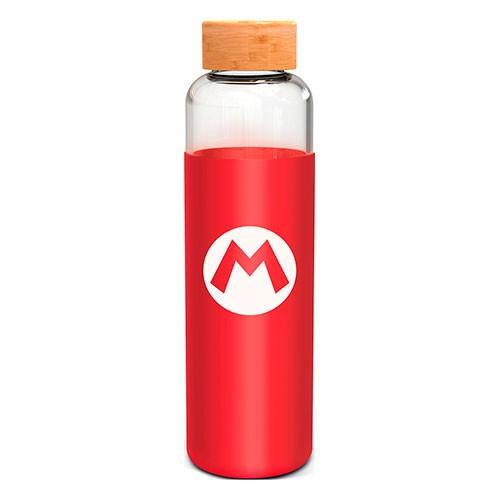 Botella Cristal Silicona Mario 585 Ml