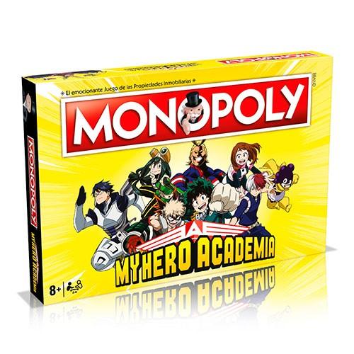 Juego De Mesa Monopoly My Hero Academia