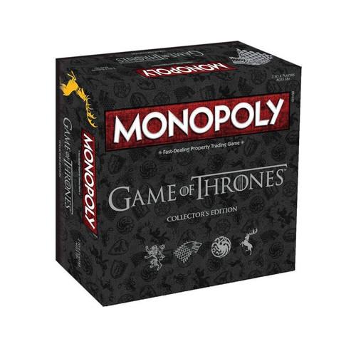 Juego De Mesa Monopoly Juego De Tronos Ed. Lujo