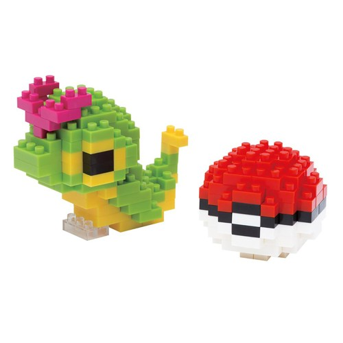 Figura Caterpie Y Pokeball 18cm