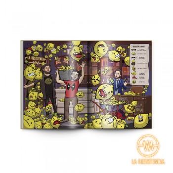 Libro De Actividades + Sticker + Cromo